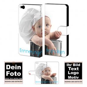Ledertasche Handyhülle für HTC One X9 mit Fotodruck Etui