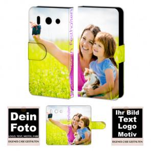 Huawei G510 Personalisierte Handy Tasche mit Foto Text Druck