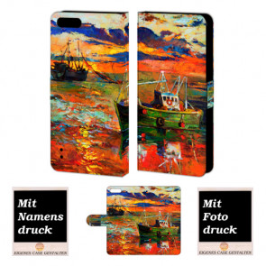Huawei Honor 6 Plus Gemälde Handy Tasche Hülle Foto Bild Druck
