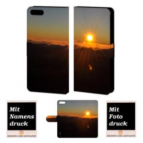 Huawei Honor 6 Plus Handy Hülle mit Sonnenaufgang Bild Druck