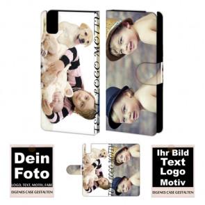 Personalisierte Handy Hülle Tasche für Huawei Honor 7i mit Fotodruck