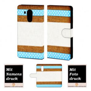 Huawei Mate 8 Muster Handy Tasche Hülle Foto Bild Druck