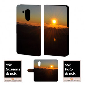 Huawei Mate 8 Sonnenaufgang Handy Tasche Hülle Foto Bild Druck