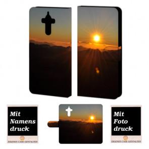 Schutzhülle Handy für Huawei Mate 9 mit Sonnenaufgang Bilddruck