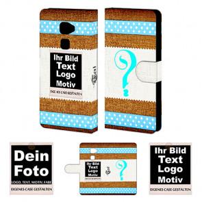 Schutzhülle Handy Hülle für Huawei Mate S mit Fotodruck Etui