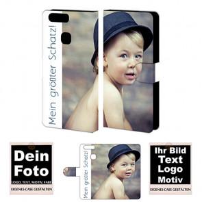 Handyhülle für Huawei P9 Plus mit Foto Namen Bild Druck