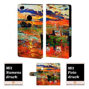 Huawei P8 Lite 2017 Gemälde Handy Tasche Hülle Foto Bild Druck
