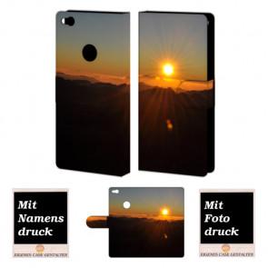 Huawei P8 Lite 2017 Individuelle Handyhülle mit Sonnenaufgang Bilddruck