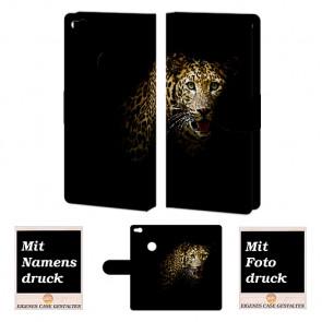 Huawei P8 Lite 2017 Personalisierte Handyhülle mit Leopard Fotodruck