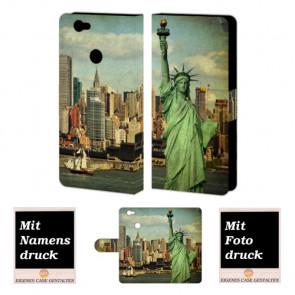 Huawei Nova Handyhülle selbst gestalten mit eigenem Foto Freiheitsstatue