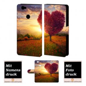 Huawei Nova Handyhüllen mit Bild und Text online selbst gestalten Herzbaum