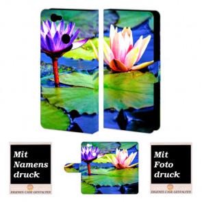 Huawei Nova Personalisierte Handyhülle mit Foto selbst gestalten Lotosblumen
