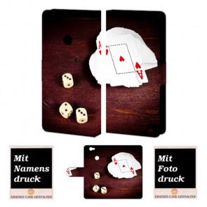 Huawei Nova Individuelle schutzhülle Personalisiert Tasche Bild Foto Spielkarten -Würfel