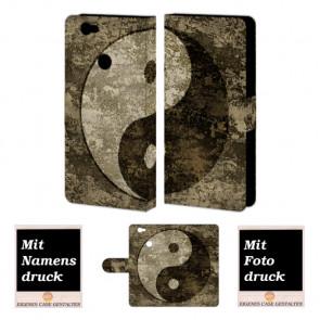 Huawei Nova Handyhüllen mit Bild und Text online selbst gestalten yin yang