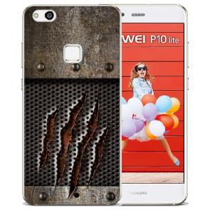 TPU Silikon Hülle mit Bilddruck Monster-Kralle für Huawei P10 Lite Etui