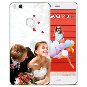 Huawei P10 Lite Silikon Hülle mit Foto Bilddruck