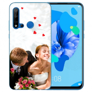 Huawei P20 Lite Silikon Hülle mit Foto Bilddruck