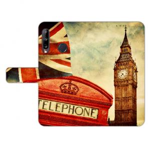Handy Hülle mit Bilddruck Big Ben London für Huawei Y9 (2019)