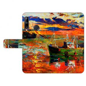 Huawei Y9 (2019) Personalisierte Handy Hülle mit Bild Druck Gemälde