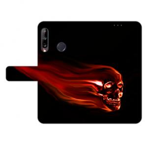 Schutzhülle für Huawei Y9 (2019) Handy Hülle mit Foto Druck Totenschädel