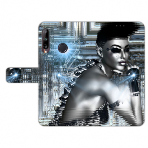 Huawei Y9 (2019) Individuelle Handy Hülle mit Fotodruck Robot Girl