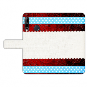 Individuelle Handy Hülle mit Fotodruck Muster für Huawei Y9 (2019)