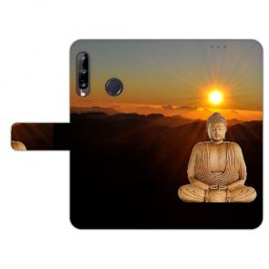 Handy Hülle für Huawei Y9 (2019) mit Bilddruck Frieden buddha