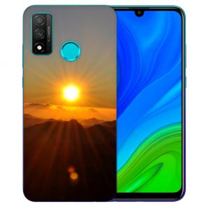Huawei P Smart 2020 TPU Hülle mit Fotodruck Sonnenaufgang Etui