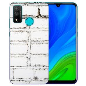 Huawei P Smart 2020 TPU Hülle mit Fotodruck Weiße Mauer Etui