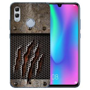 Huawei Honor 10 Lite Silikon TPU Hülle mit Bilddruck Monster-Kralle