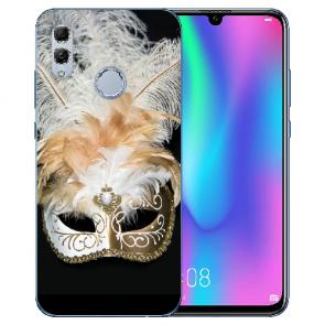 Huawei Honor 10 Lite Silikon TPU Hülle mit Bilddruck Venedig Maske