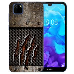 Huawei Y5P (2020) TPU Hülle mit Fotodruck Monster-Kralle Etui