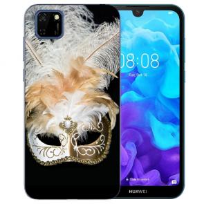 Huawei Y5P (2020) TPU Hülle mit Fotodruck Venedig Maske Etui