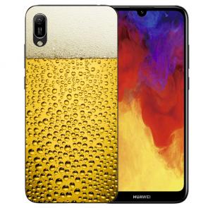 Silikon TPU Schutzhülle mit Bier Bilddruck für Huawei Y5 (2019)