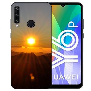 Huawei Y6P (2020) TPU Hülle mit Fotodruck Sonnenaufgang Etui