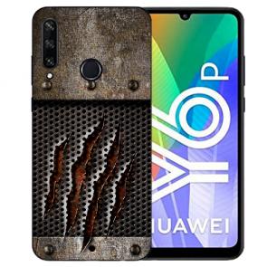 Huawei Y6P (2020) TPU Hülle mit Fotodruck Monster-Kralle Etui