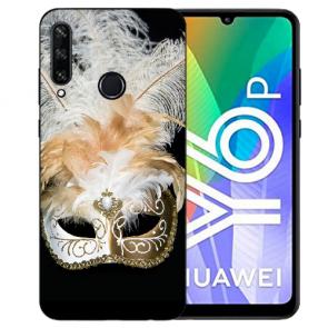 Huawei Y6P (2020) TPU Hülle mit Fotodruck Venedig Maske Etui
