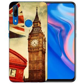 Huawei Y9 Prime 2019 Silikon TPU mit Fotodruck Big Ben London