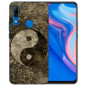 Silikon TPU mit Yin Yang Fotodruck für Huawei Y9 Prime 2019 Etui