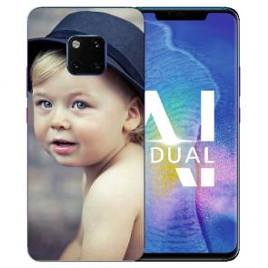 Huawei Mate 20 Pro Silikon TPU Case Schutzhülle mit Foto Druck