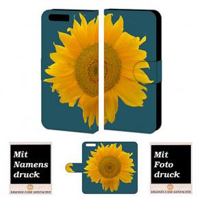 Huawei P10 Individuelle Handyhülle mit Fotodruck Sonnenblumen