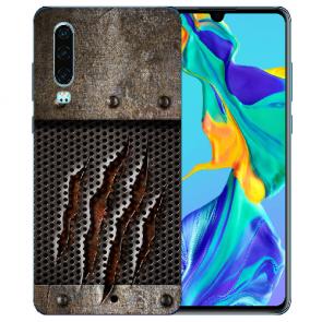 Silikon TPU Handy Hülle mit Bilddruck Monster-Kralle für Huawei P30