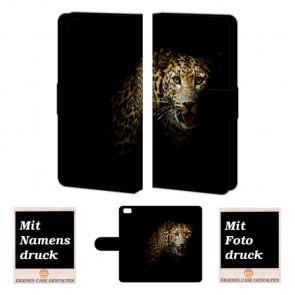 Huawei P8 Lite Personalisierte Handyhülle mit Fotodruck Leopard