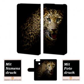 Huawei P9 Personalisierte Handy Hülle mit Leopard Fotodruck