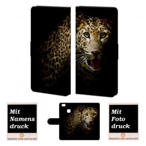 Huawei P9 Lite Personalisierte Handyhülle mit Leopard Fotodruck
