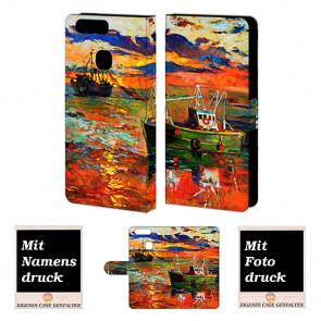 Huawei P9 Plus Personalisierte Handyhülle mit Gemälde Fotodruck