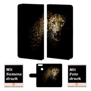 Huawei P9 Plus Personalisierte Handyhülle mit Leopard + Fotodruck