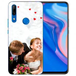 Huawei Y9 Prime 2019 Silikon TPU Case Schutzhülle mit Foto Druck