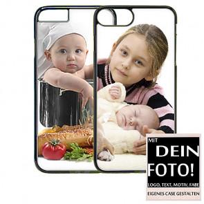 2D Hülle für iPhone 6 6s Plus Hard case mit Foto und Text zum selbst gestalten.