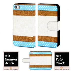 iPod Touch 4 Muster Handy Tasche Hülle Foto Bild Druck